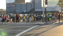 Backstreet Boys -- Fans Still Lining Up AROUND THE BLOCK