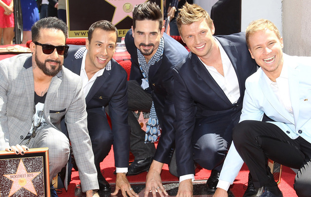 Backstreet's Back ... And Got A Star on the Hollywood Walk of Fame!