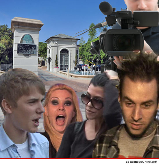 Justin Bieber's Neighborhood -- Targeted For Reality TV