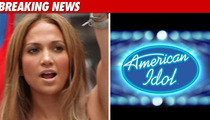 Jennifer Lopez Is a Go On 'Idol' ... for One Year