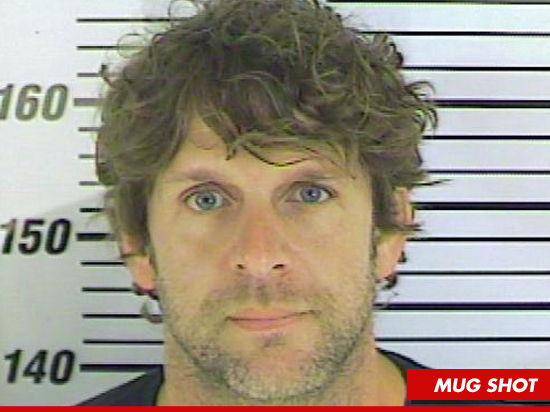 Country Star Billy Currington -- The HANDSOMEST Mug Shot Ever