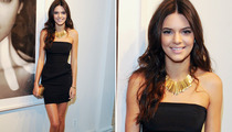 Kendall Jenner Wears Mini-Dress on Date With Dad!