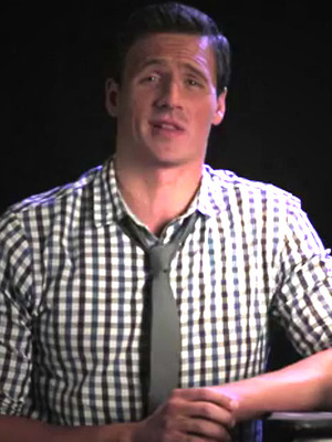 "Funny Video: Ryan Lochte Debuts New ""Gold"" Fragrance!"