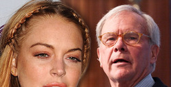 Lindsay Lohan -- Hey Tom Brokaw ... Why You Gotta Be So Mean?