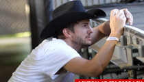 Ashton Kutcher In Violent Confrontation with Security at Stagecoach Music Festival