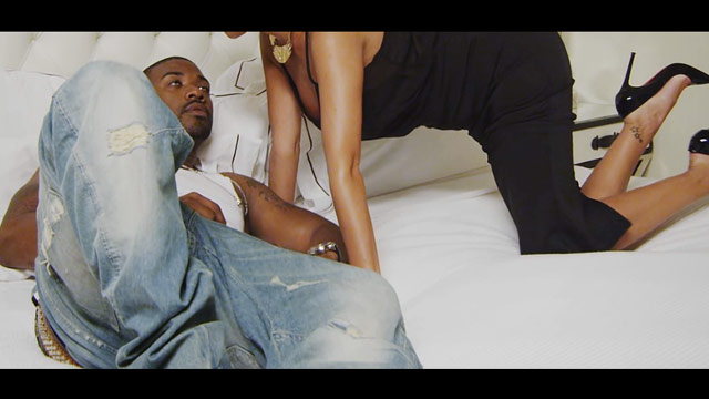 'I Hit It First' Video -- Ray J Sticks It to Kim Kardashian ... Look-alike