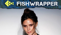 Victoria Beckham is Kind of Adorable, Gets Naked to Design Clothes