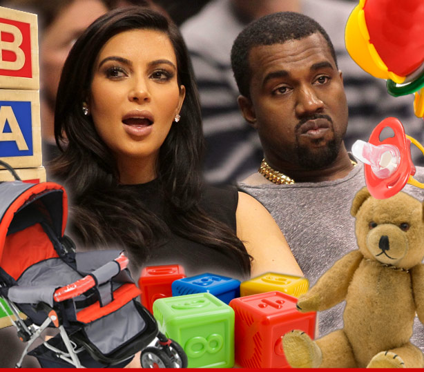 Kim Kardashian -- REFUSING BABY GIFTS ... Seeking Donations Instead