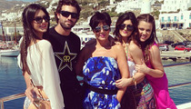 The Kardashians Share Personal Pics From Greece!