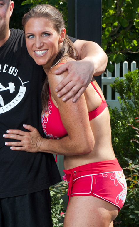 Stephanie McMahon's Sexy Workout Photos