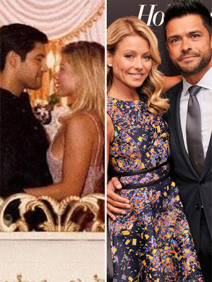 Kelly Ripa Posts 1996 Wedding Photo!
