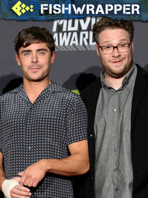 Quotables: Seth Rogen Just Now Realized How Perfect Zac Efron Is
