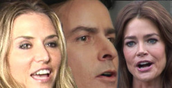 Charlie Sheen -- I&#039;m GLAD My Twins are with Denise Richards