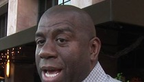 Magic Johnson SWATTED -- But Cops Smelled B.S.