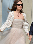 Keira Knightley Recycles Wedding Dress!