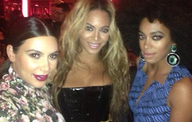 Kim Kardashian Posts Candid Met Gala Pics with Beyonce & Madonna