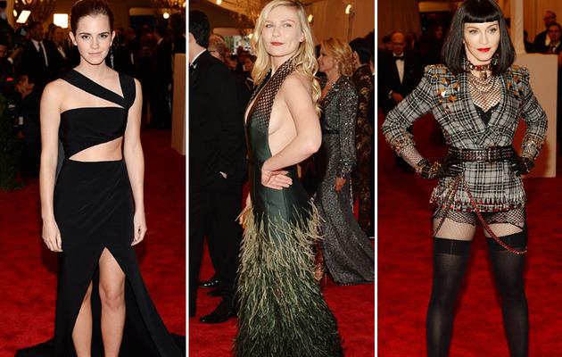 Emma Watson, Madonna & More -- Stars Show Serious Skin at Met Gala