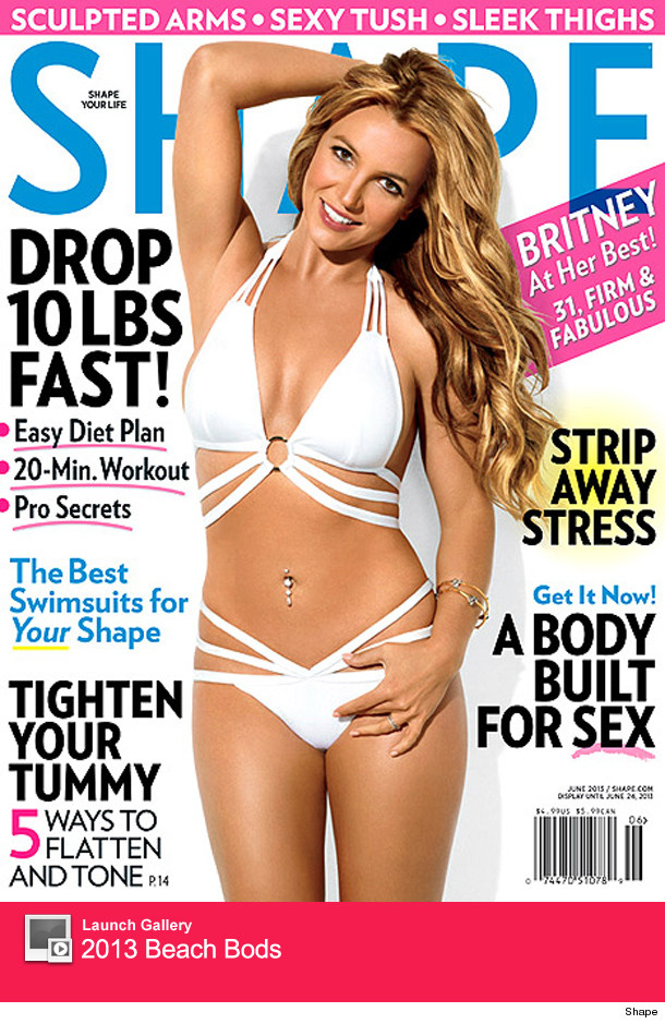 Britney Spears Shape Magazine Cover