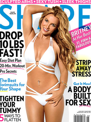 "Fans Cry ""Photoshop"" Over Britney Spears' Bikini Cover"