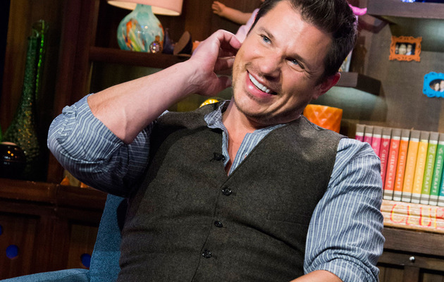 "Video: Nick Lachey Talks Jessica Simpson & ""Grab Ass"" With Papa Joe!"