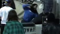 Pro Skateboarders Don Nguyen & Justin Figueroa -- MASSIVE SKATE PARK BRAWL ... 'He's Got a Knife!'