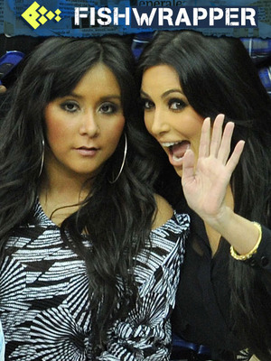 Snooki is Great at Being Adorable, But Not So Great at Naming Humans (for Kim Kardashian)