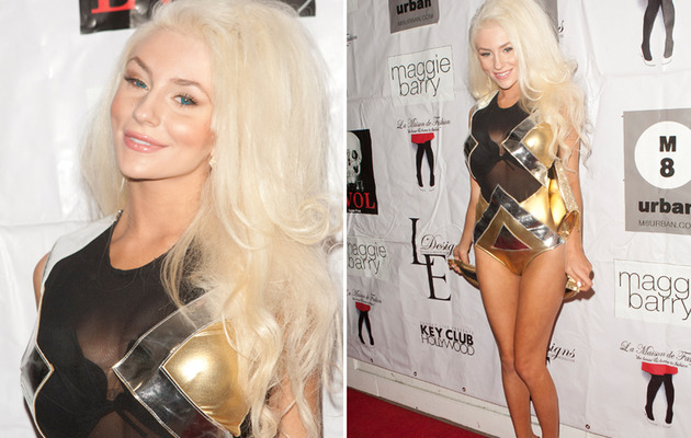 What's Courtney Stodden Not Wearing Today?