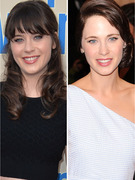 Zooey Deschanel Debuts Drastic New 'Do!