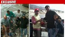 'Diff'rent Strokes' Star -- Bloody After Shark Face-Off