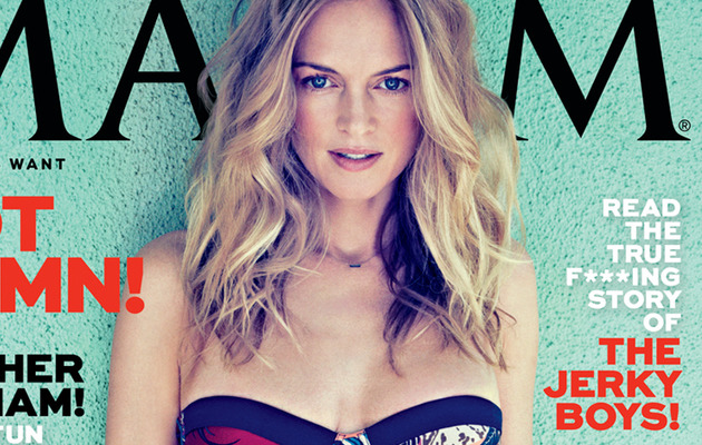 Heather Graham, 43, Covers Maxim In a Bikini!