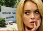 Lindsay Lohan Wants To BAIL From Betty Ford -- Ain&#039;t Gonna Happen