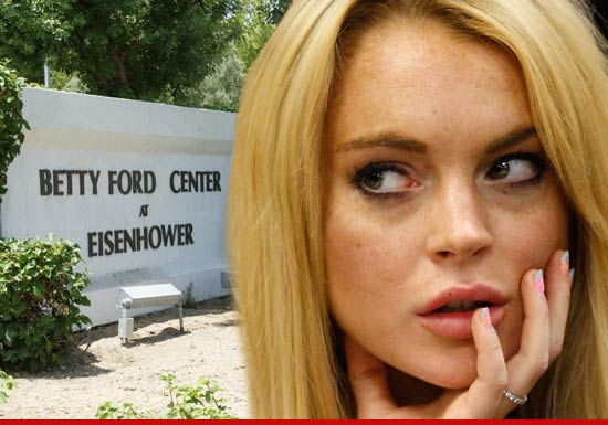 Lindsay Lohan Wants To BAIL From Betty Ford -- Ain't Gonna Happen