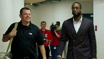 Dwyane Wade's Fashion Disaster -- This Is How I Roll ... Up My Pants