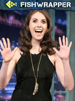 Alison Brie Has the Most Adorable Naked Photos in Existence
