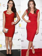 Dueling Dresses:  Jessica Lowndes vs. Allison Williams