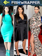 Poor Kim Kardashian Says She&#039;s Wearing &quot;Whatever Fits,&quot; is Obviously Wrong