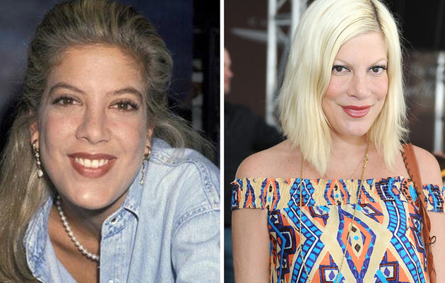 "Tori Spelling Turns 40 -- See the Cast of ""90210"" Then and Now!"