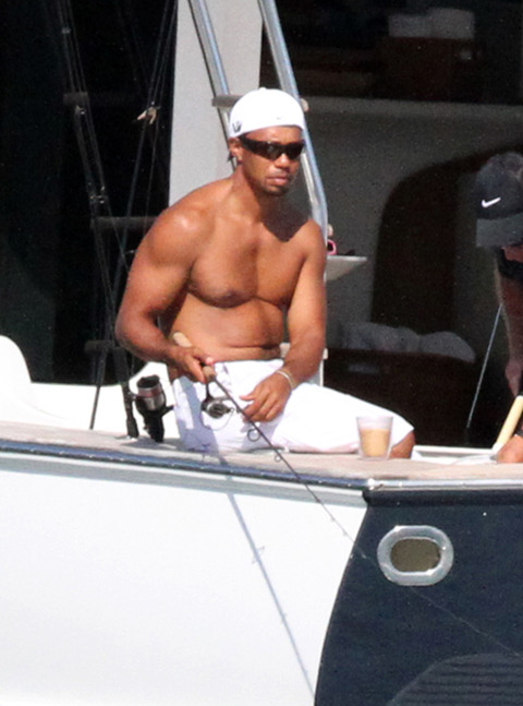 Tiger Woods  amp  Lindsey Vonn -- The Topless Boat PartyLindsey Vonn Tiger Woods Yacht