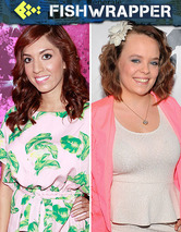 Adorable &quot;Teen Mom&quot; Catelynn Lowell Puts Idiot &quot;Teen Mom&quot; Farrah Abraham in Her Place