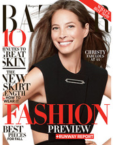 Christy Turlington Still Modeling Underwear, Talks Not Using Botox! 