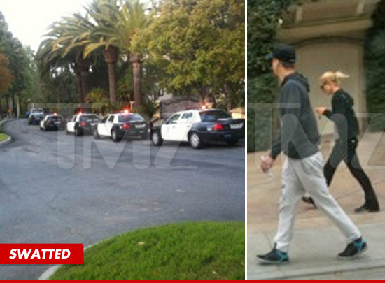 Paris Hilton -- Repeat Swatting Victim ... That's NOT Hot | TMZ.com