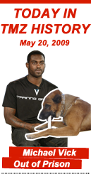 Today in TMZ History: Michael Vick Out of Prison
