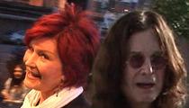 Sharon & Ozzy Osbourne -- Lunch Date in Beverly Hills