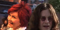 Sharon &amp; Ozzy Osbourne -- Lunch Date in Beverly Hills