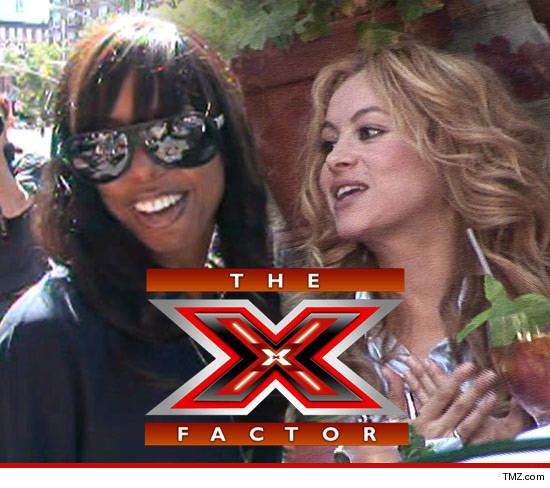 The X Factor Close to Signing Kelly Rowland and Paulina Rubio as Judges