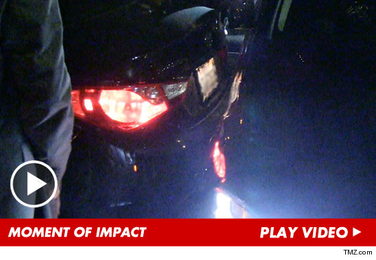 L.A. Lakers Devin Ebanks — SMASHED By Oblivious Driver in Nightclub Accident