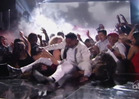 Miguel -- Accidentally LEG DROPS Fan at Billboard Awards