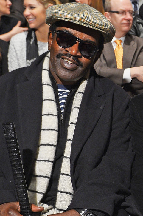 Fab 5 Freddy recently resurfaced looking shy.