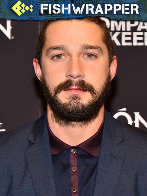 Shia LaBeouf, Very Serious Artist, Isn't Doing Artsy Porn After All
