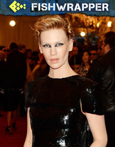 Just in Case You Were Wondering, January Jones Still Hasn't Gotten Over Herself